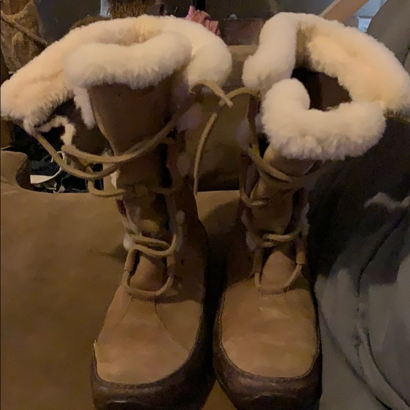 The North Face Shoes - The North Face fur lined boots